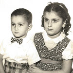 Rosemary Nalbone and her younger brother, Joey. Link to her story